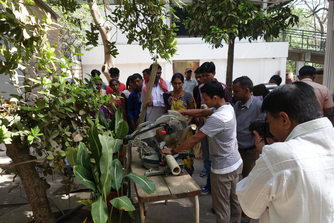 Design & Skill Upgradation Training workshop in Bamboo: Day 3