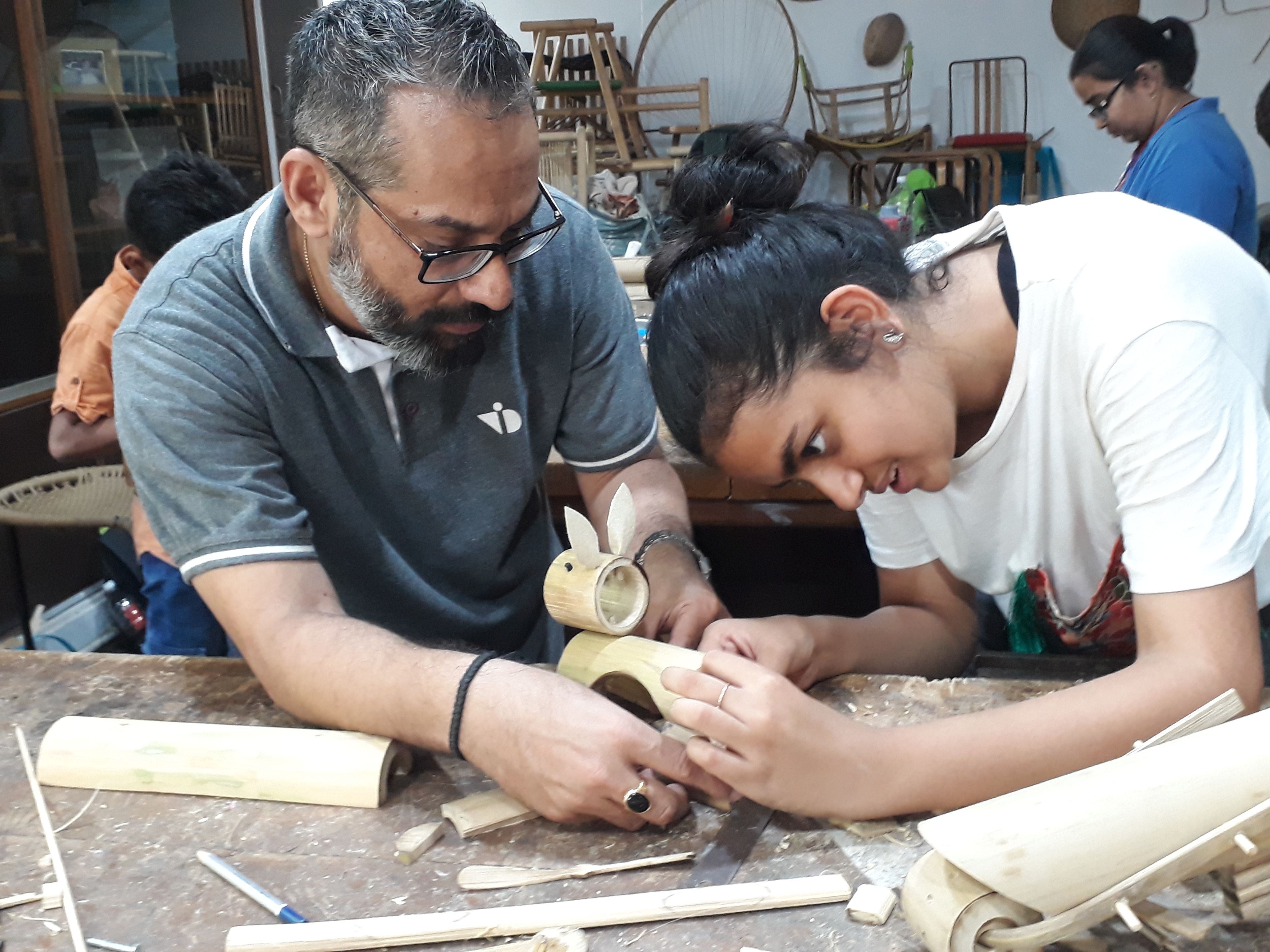 Crafting Bamboo- Summer Workshop 2019- Day 3